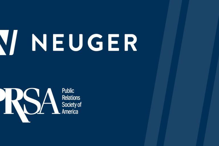 Neuger logo, PRSA logo