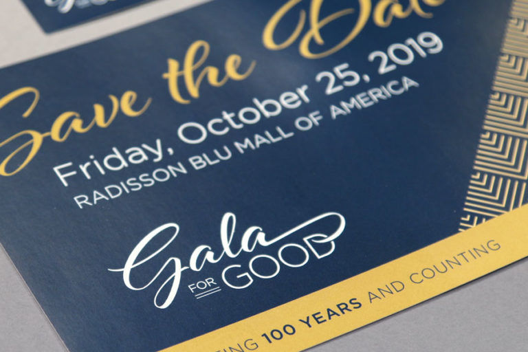 Goodwill Gala for Good printed mailer