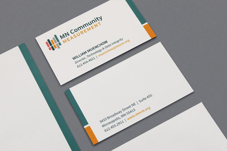 MN Community Measurement Business Cards