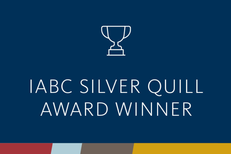 iabc silver quill award winner