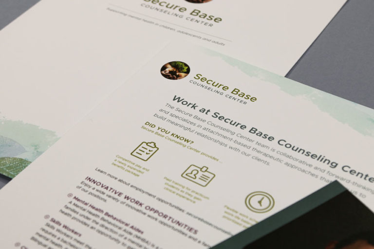 Secure Base Printed materials