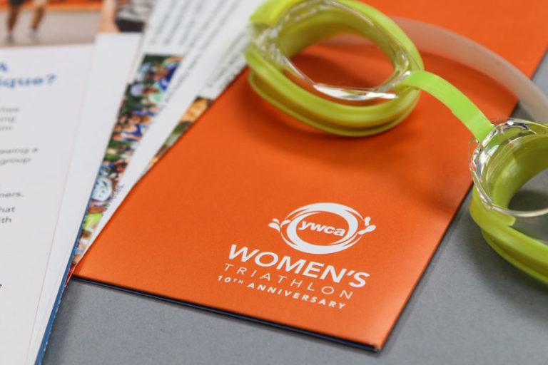 YMCA Women's Triathalaon pinted work